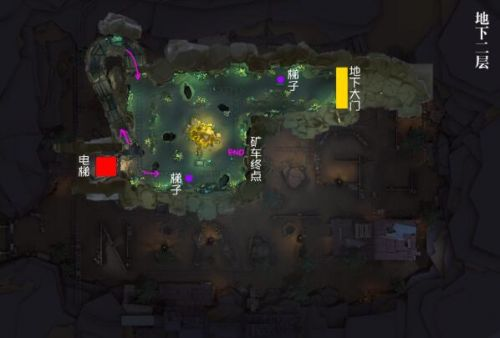 第五人格闪金石窟地图打法攻略 闪金石窟地图路线