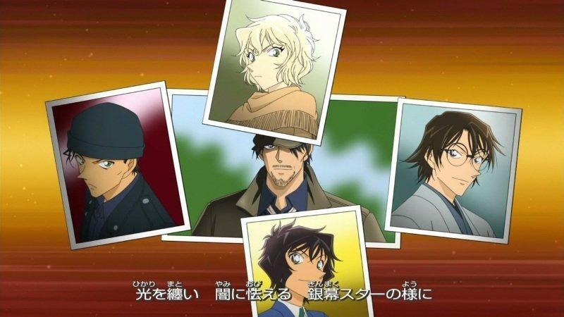 《名侦探柯南:绯色的弹丸》海报 4月17日上映