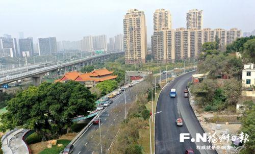 福州福马路近17公里主线建成通车 串起六一路和三江口大桥