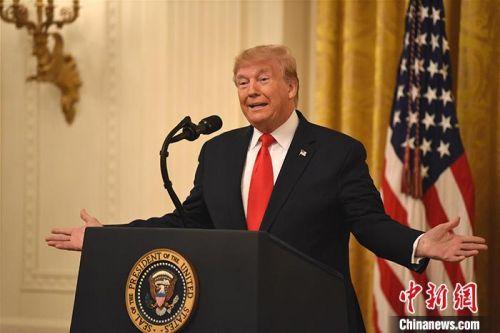 美国史上第三次总统弹劾审判 特朗普表强烈不满