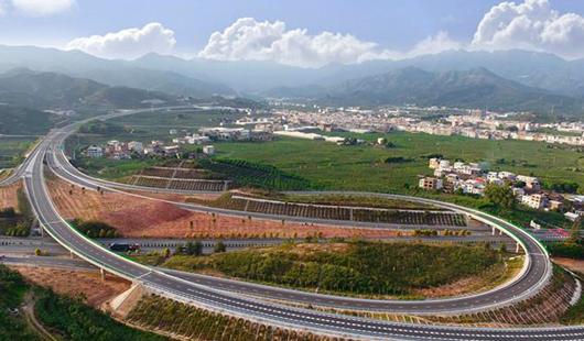 漳州云霄至平和(闽粤界)高速公路全线建成通车