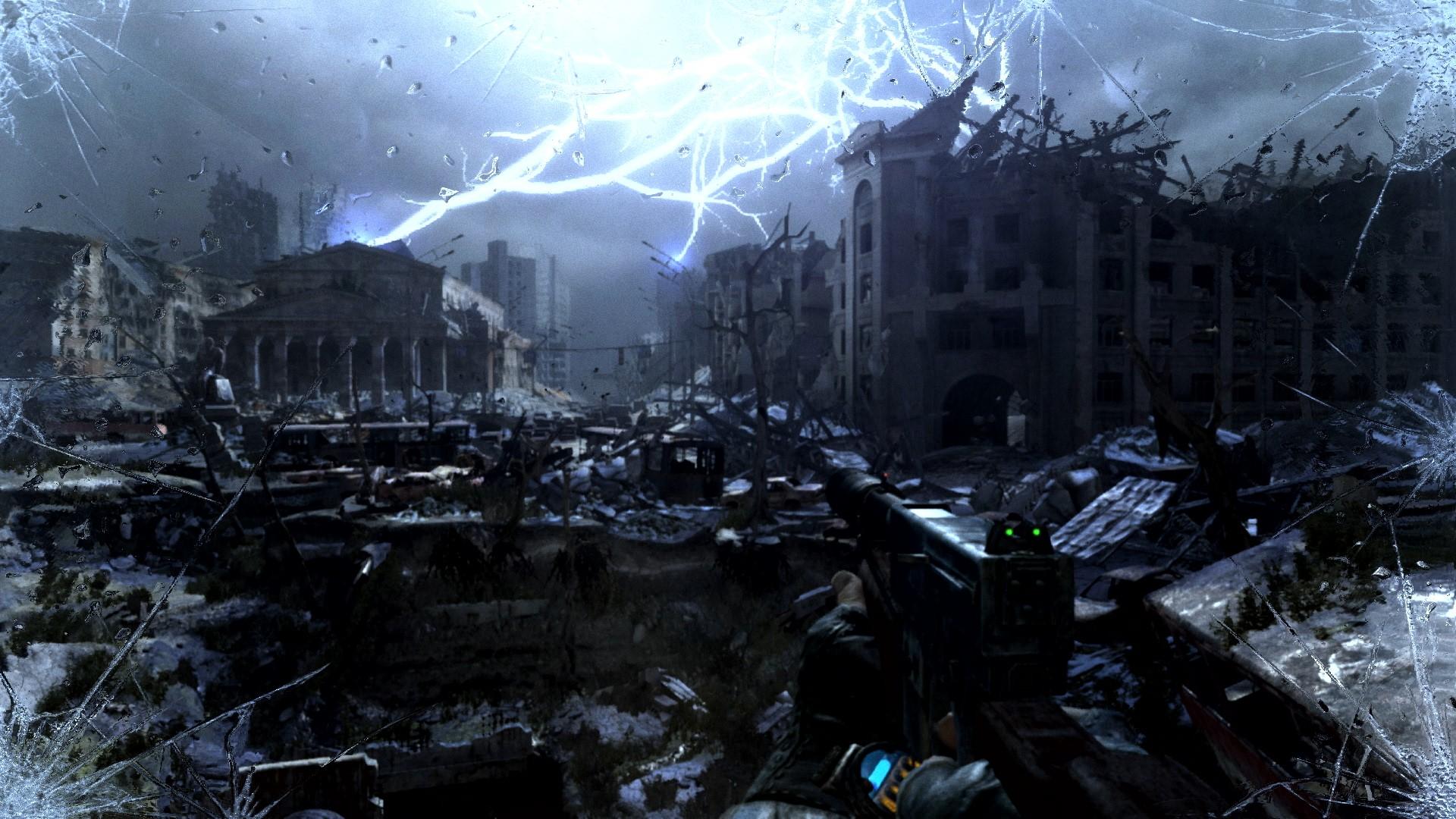 《地铁:归来》NS版实机截图 游戏画面还不错