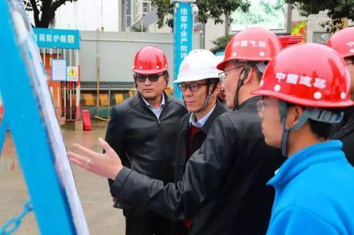 春节将至 福州地铁4号线减小工地围挡保出行