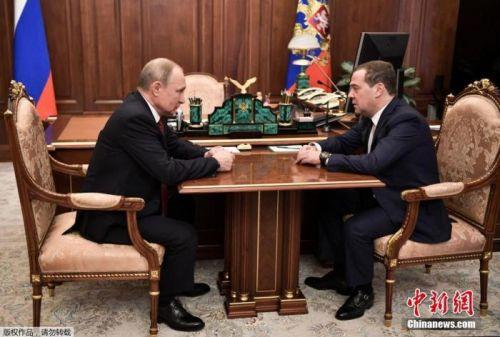 俄前总理梅德韦杰夫:政府辞职很正常 需平静对待