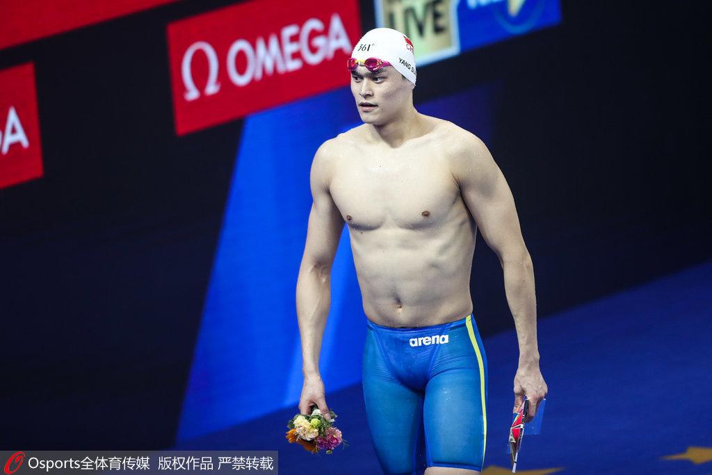 孫楊400米自由泳再奪一金 北京站雙冠王