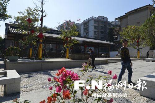 福州51条传统老街巷集中开放