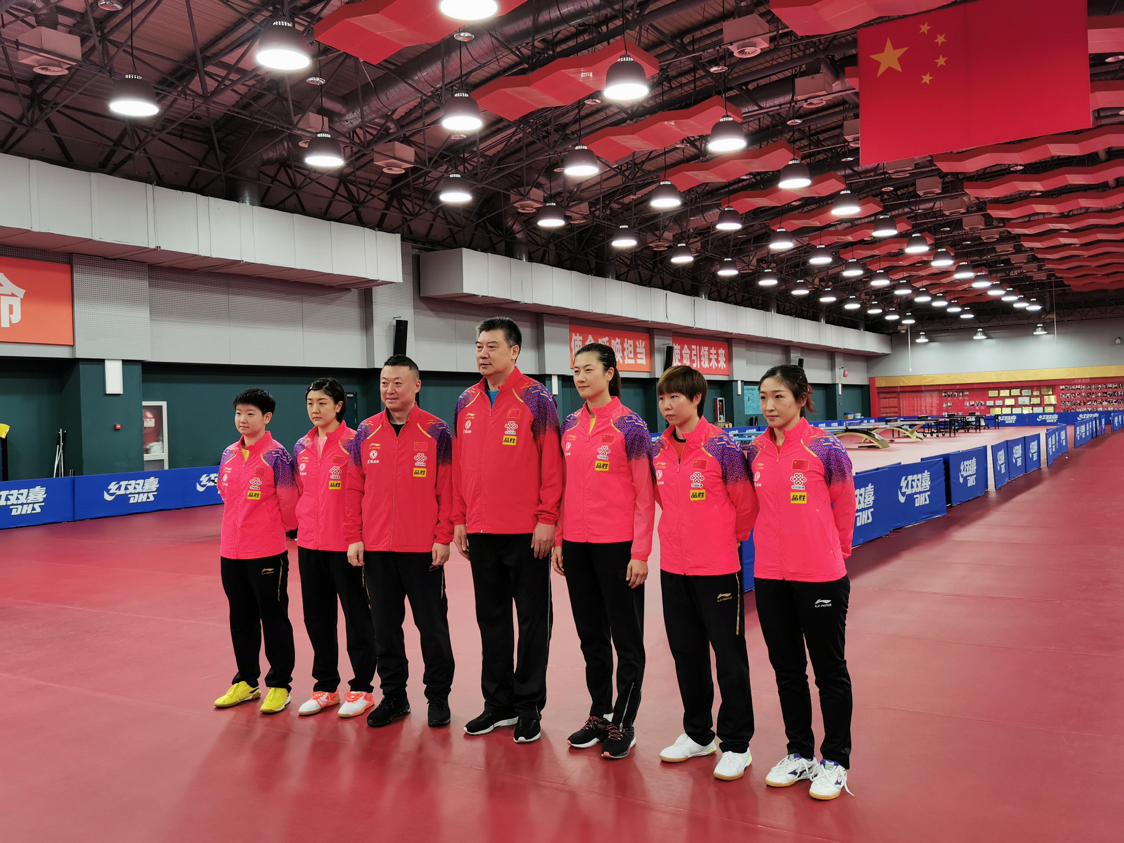 國乒公布2020釜山世乒賽名單 馬龍劉詩雯領銜