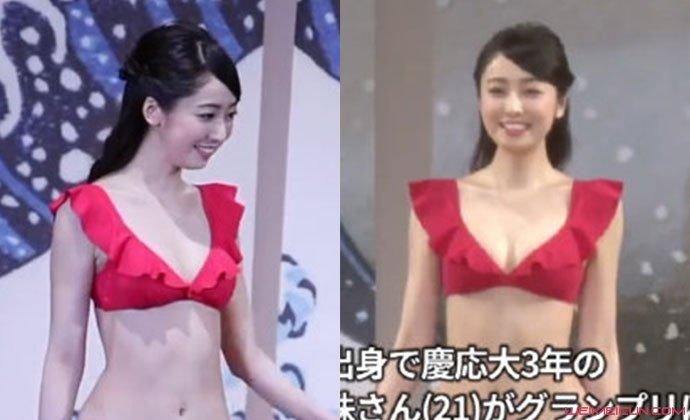 2020日本小姐冠軍是誰 小田安珠奪冠現場曝光泳裝照太美了