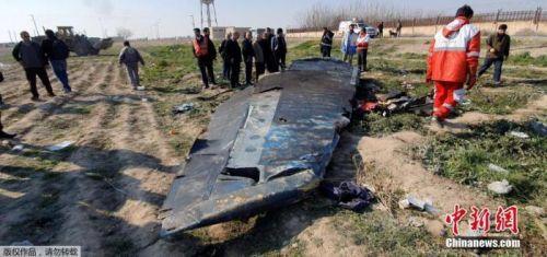 伊朗民航組織:失事烏克蘭客機系遭兩枚導彈擊落