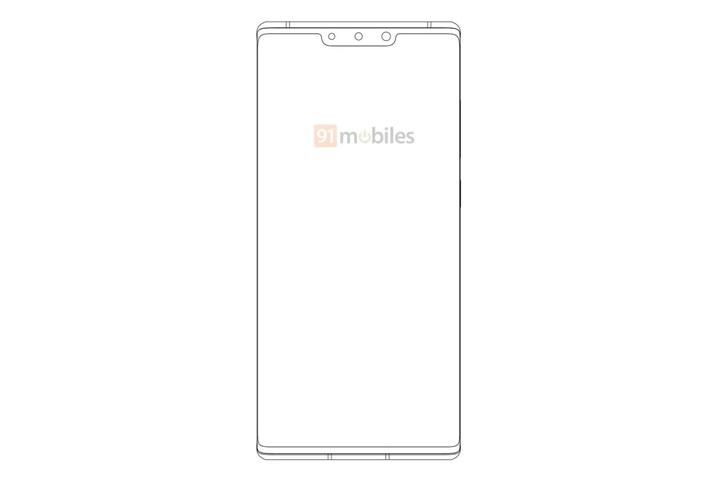 """华为手机新设计专利曝光:后置""""X""""五摄"""