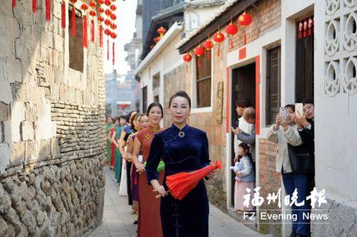 羅源縣后張街特色歷史文化街區(二期)正式開街