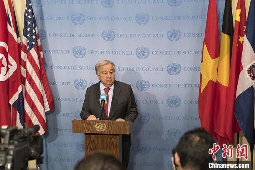 """聯合國秘書長:希望盡快召開利比亞問題""""5+5""""會議"""