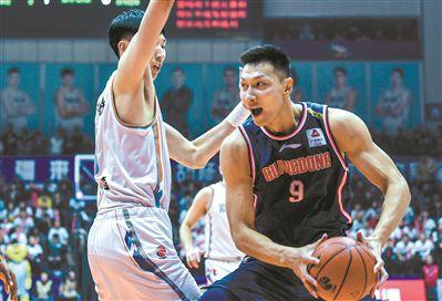 廣東男籃擊敗新疆 以112比101拿到13連勝