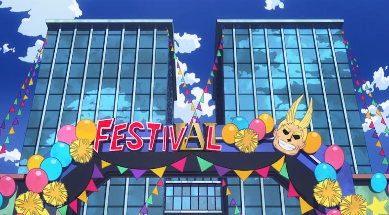 《我的英雄学院》第4季文化祭篇PV:英雄降临!
