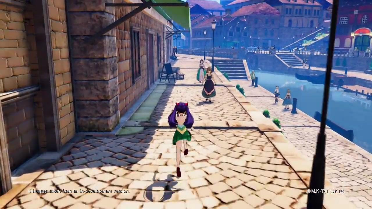 《妖精的尾巴》JRPG新預告片展示馬格諾利亞鎮