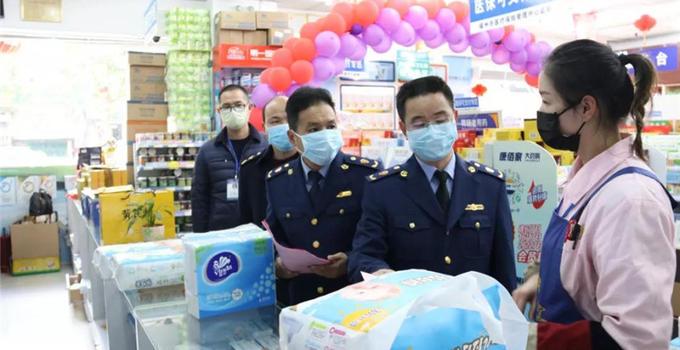 福建省市場監管部門加強市場監管 做好疫情防控工作