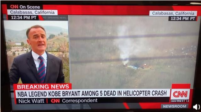 科比直升机失事原因或与洛杉矶大雾有关,飞机曾低空盘旋6次