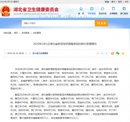 黄冈确诊1002例怎么回事?黄冈新型肺炎疫情最新消息已确诊1002例
