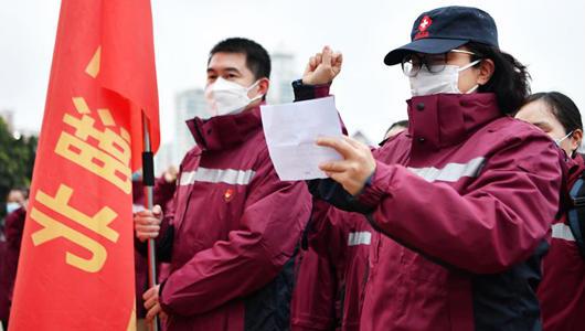 福建省援助湖北護理專業醫療隊緊急馳援武漢