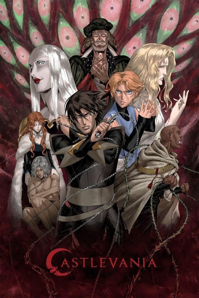 网飞动画《恶魔城》第三季确定 3月5日开播
