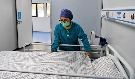 福清市医院新感染病区第一期项目即将建成启用