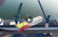 長征五號B型火箭運抵文昌 新一代載人飛船試驗船4月首飛