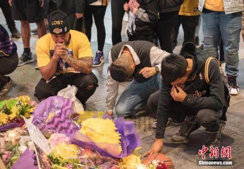消息人士:洛杉磯斯臺普斯中心24日舉行悼念科比活動