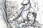 福建福州:笔墨丹青描绘抗疫画卷