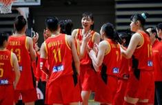 中國女籃三連勝進軍奧運會 勝利獻給祖國
