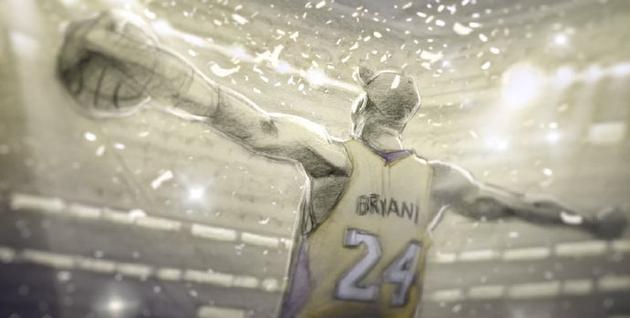 科比曾憑借《親愛的籃球》獲得奧斯卡最佳動畫短片獎