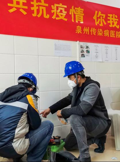 """他们,被称为""""通信卫士"""" ――中国电信福建公司一线员工战""""疫""""记"""