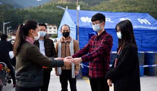 福建永春:疫情防控一线的别样订婚礼
