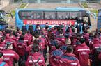 福建省對口支援湖北宜昌防治新型冠狀病毒肺炎首批支援隊出征