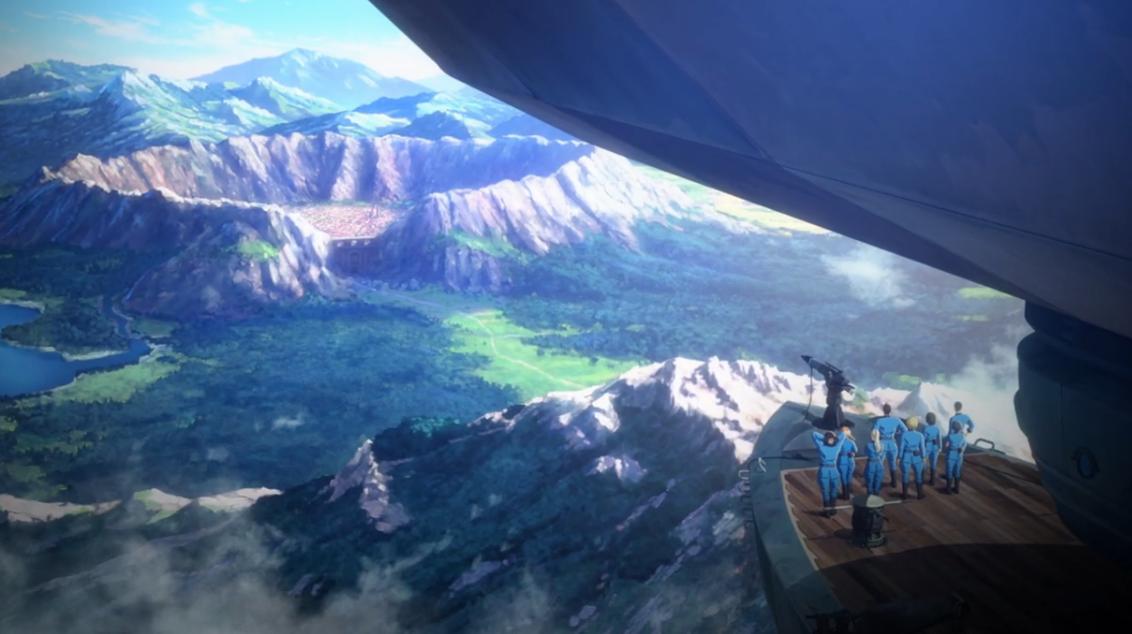 新番動畫《獵龍飛船》預告 捕獵惡龍奇幻冒險