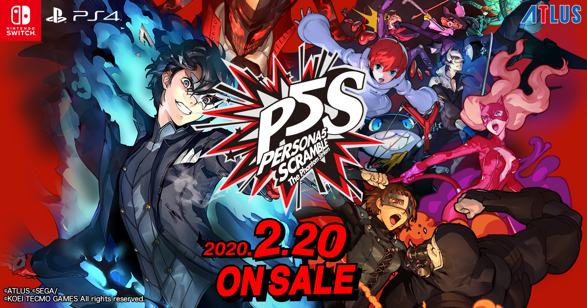 Fami通每周游戲評分 女神異聞錄5S獲36分登白金