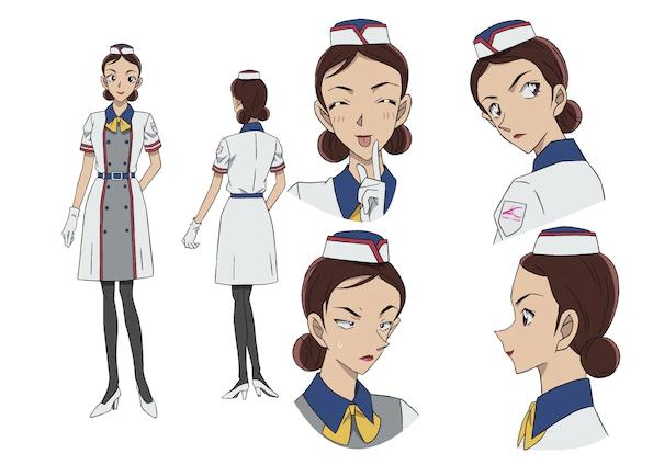 《名偵探柯南》新劇場版角色公開 超人氣女星濱邊美波友情客串