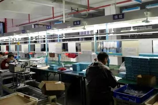漳州企业慢慢停工出产 踊跃保障物质供给