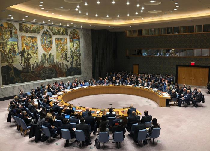 聯合國安理會舉行中東局勢和巴勒斯坦問題公開會