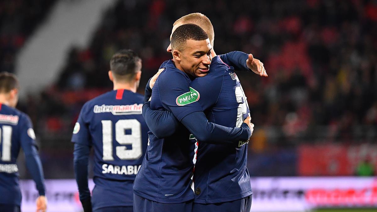 姆巴佩傳射+造烏龍 巴黎6-1大勝晉級4強