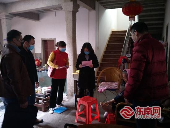 """惠安文明办驻村干部:下沉战""""疫""""一线 推进文明实践"""