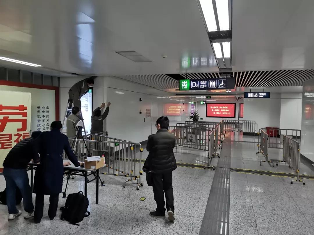 即走即测,多人同时测温!福州地铁启用智能人体测温仪