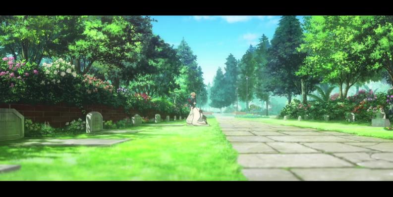 剧场版《紫罗兰永恒花园》新CM:琥珀色的回忆