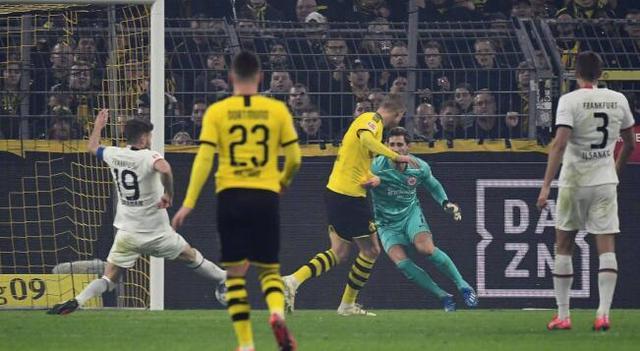 桑乔哈兰德建功阿什拉夫两助攻,多特4-0法兰克福