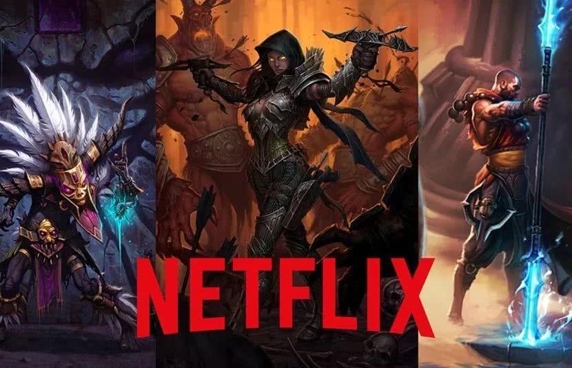 《守望先锋》《暗黑》将有动画 网飞负责暗黑动画