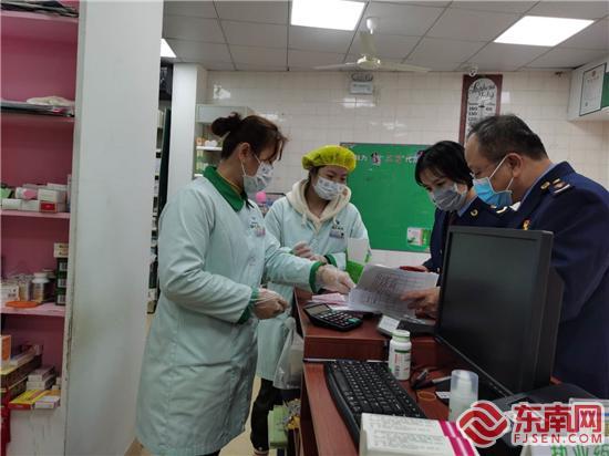 厦门思明区市场监管局指导辖区药械企业科学复工