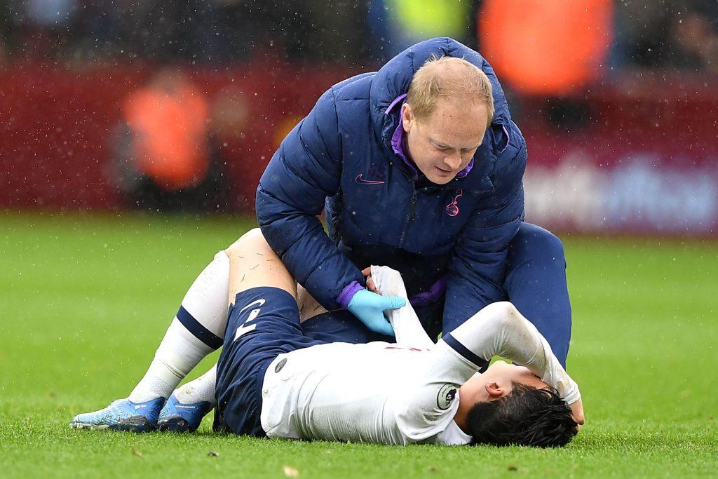 孙兴慜绝杀比赛过程回顾 开场54秒就骨折 带伤仍进两球完成绝杀