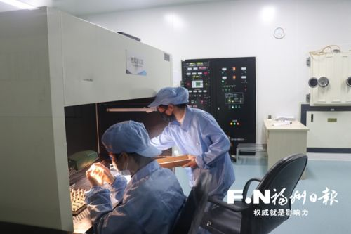 福州高新区全力护航企业研发生产