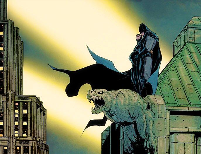 DC漫畫《蝙蝠俠和貓女》圖透 貓女懷孕老爺當爹
