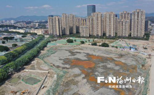晋安湖项目20日复工 计划9月完成湖体开挖