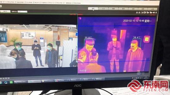 廈門:熱成像人體測溫系統在地鐵和BRT投入試用